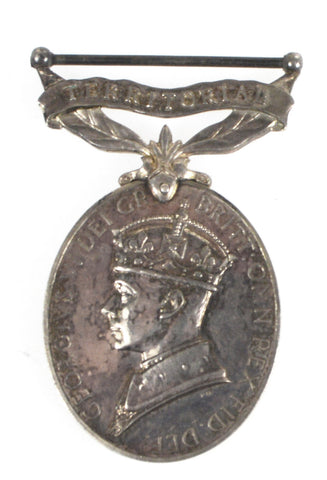 Efficiency Medal (Territorial) - 3531445 Cpl D A Thornley, Royal Electrical & Mechanical Engineers