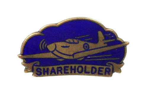 World War Two Vauxhall Bedford Drivers Aeroplane War Fund Subscribers Enamel Badge