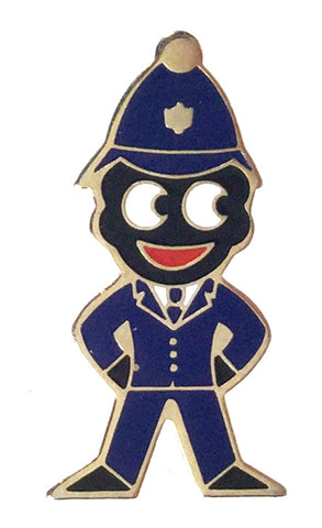 Robertsons 1980's 'Bobble Helmet' Policeman Golly Badge