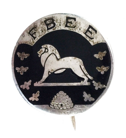 Fellowship Of The British Empire Exhibition 1924 Members Enamel Brooch Badge