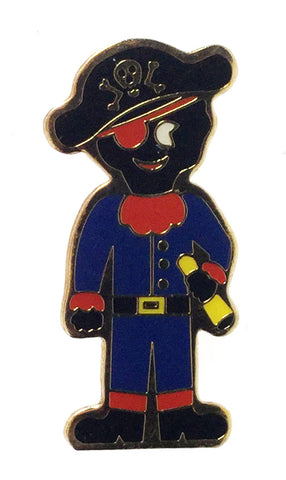 Robertsons 1980's Limited Edition Pirate Golly Badge
