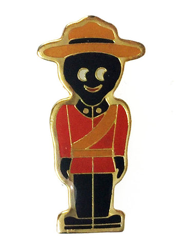 Robertsons 1980's Limited Edition Canadian Mountie Golly Badge