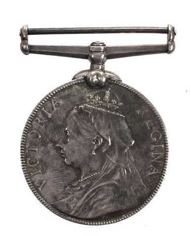 Queen Victoria Volunteer Force LSGC Medal - 4176 Pte J Brock, Volunteer Btn Devonshire Regiment