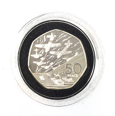 60th Anniversary D Day Landings 1994 Silver Proof 50p Coin