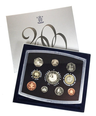 Royal Mint 2000 Millennium Uncirculated United Kingdom Coin Set