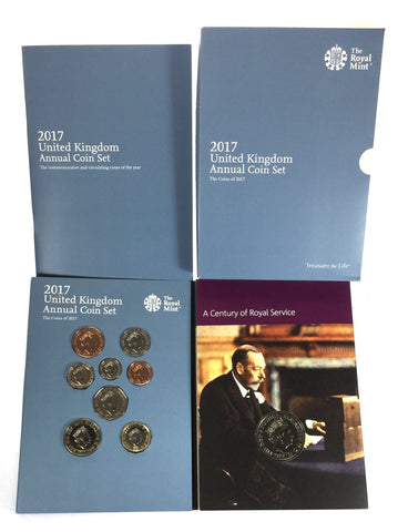 Royal Mint 2017 Brilliant Uncirculated Annual 13 Coin Set