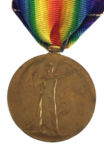 World War One Victory Medal - 13713 Pte W Antcliffe, Kings Own Yorkshire Light Infantry