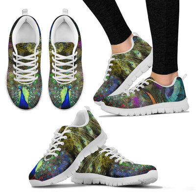 Womens Spiritual Peacock Sneakers - MM Watch 4U Store | Quality & Style