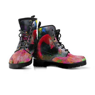 Exotic Flamingo Handcrafted Boots - MM Watch 4U Store | Quality & Style