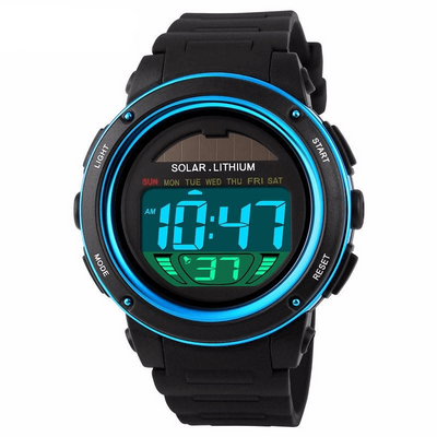 Skmei Brand Solar Energy Men's Electronic Sports Watch - MM Watch 4U Store | Quality & Style