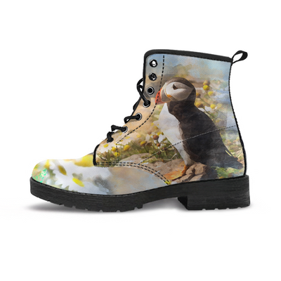 Atlantic Puffin Colorful Handcrafted Boots - MM Watch 4U Store | Quality & Style