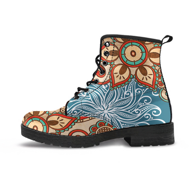 Colorful Magical Mandala Handcrafted Boots - MM Watch 4U Store | Quality & Style