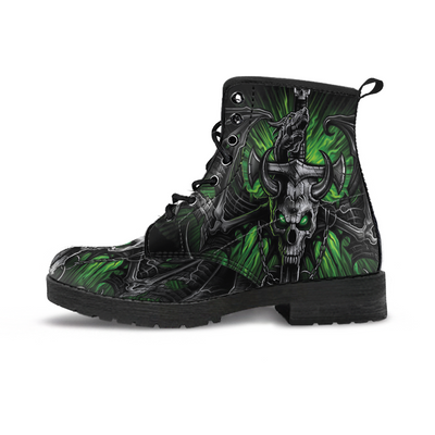 Green Eye Skull Boots - MM Watch 4U Store | Quality & Style