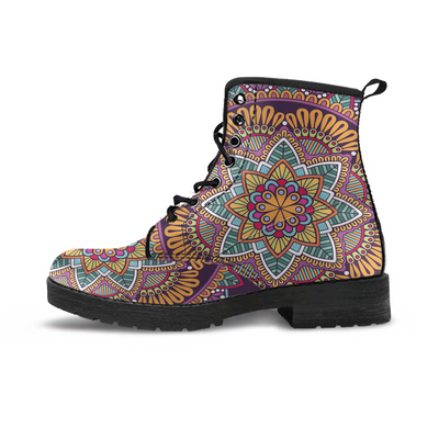 Multicolor Bohemian Mandala Handcrafted Boots - MM Watch 4U Store | Quality & Style
