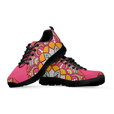 Womens Mandala Spiritual Flower Sneakers - MM Watch 4U Store | Quality & Style