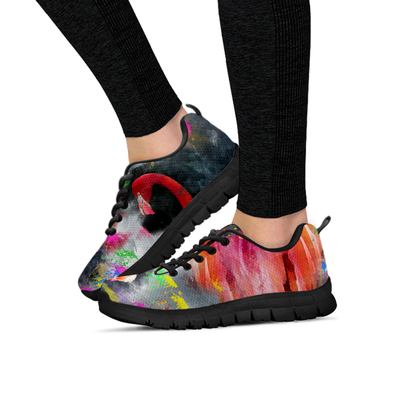 Womens Colorful Flamingo Sneakers - MM Watch 4U Store | Quality & Style