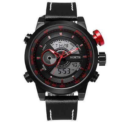 Men's Dual Display Sports Watch - MM Watch 4U Store | Quality & Style