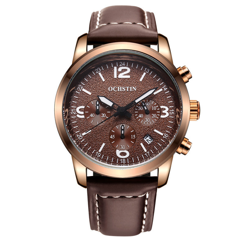 watches pp s watch genuine male package x men shshd leather contents dial watchband quartz round