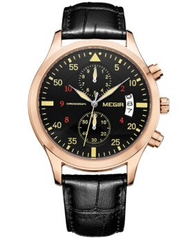 Businessmen's Chrono Watch - MM Watch 4U Store | Quality & Style