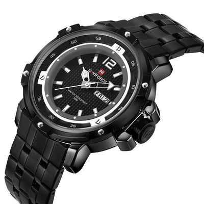 Sporty Stainless Steel Chrono Men's Watch - MM Watch 4U Store | Quality & Style