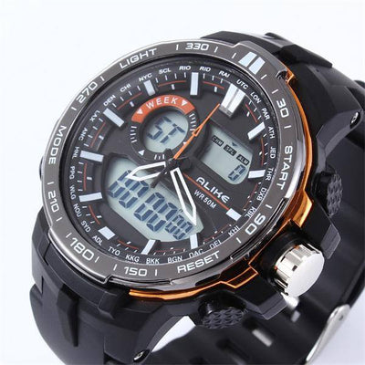 Waterproof Refined Ana-Digi Watch - MM Watch 4U Store | Quality & Style