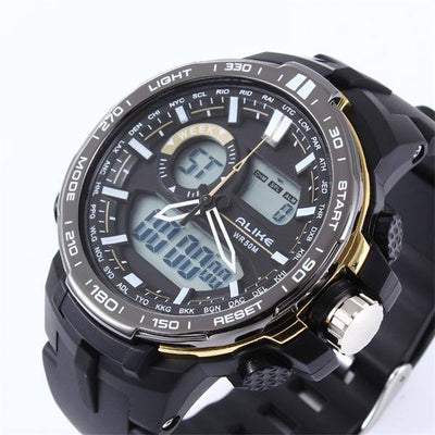 Alike New Brand Men's G Style Casual Waterproof Sports Luxury Analog Quartz Digital Watch