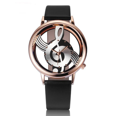 Stylish Treble Clef (G Clef) Musical Watch (Worldwide Shipping)