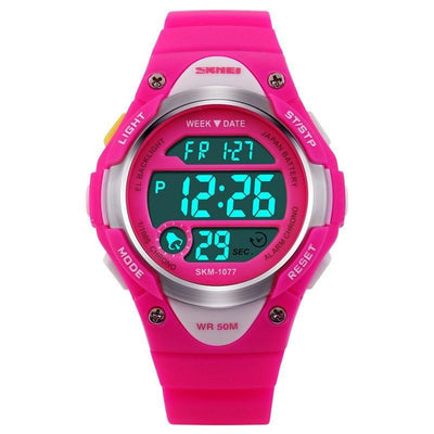 Skmei Children Kids Sports Rubber Digital LED Watch - MM Watch 4U Store | Quality & Style