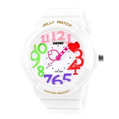 Fun Jelly Color Kiddie Watch - MM Watch 4U Store | Quality & Style