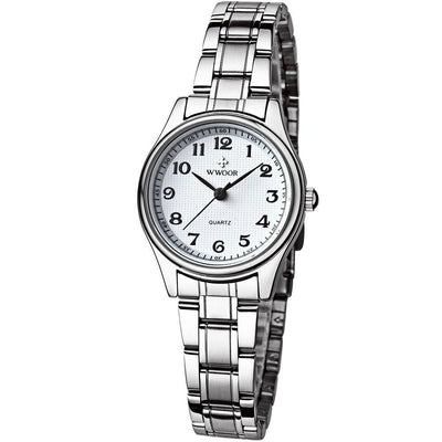 Silver Ladies' Dress Watch - MM Watch 4U Store | Quality & Style