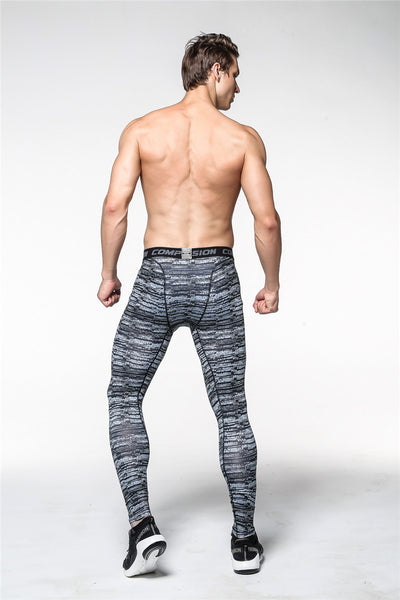 Men's Camouflage Fitness Joggers Compression Tights Long Pants - MM Watch 4U Store | Quality & Style