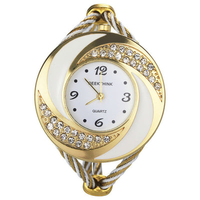 Jeweled Ladies Bangle Watch - MM Watch 4U Store | Quality & Style