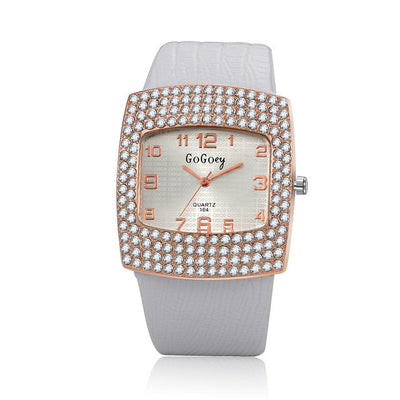 Elegant Ladies' Crystal Accented Watch - MM Watch 4U Store | Quality & Style