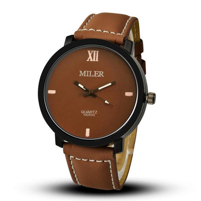 Executive Gent's Analog Watch - MM Watch 4U Store | Quality & Style