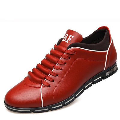 Men's Fashion Leather Summer Flat Casual Shoes - MM Watch 4U Store | Quality & Style