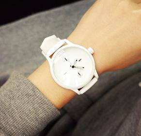 Soft Silicone Strap Ladies' Watch - MM Watch 4U Store | Quality & Style
