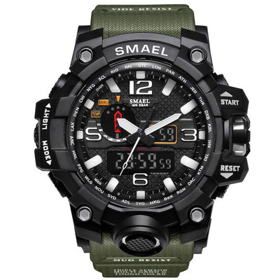 Smael Men's G Style LED Digital Waterproof Shock Military Watch