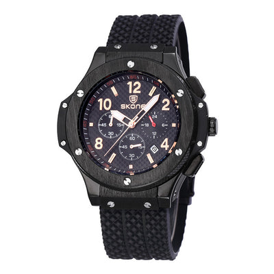 Auto Date Chronograph Men's Watch - MM Watch 4U Store | Quality & Style