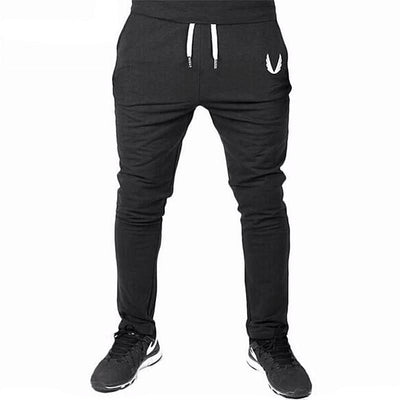 Men's Gyms Casual Elastic Cotton Fitness Workout Pants - MM Watch 4U Store | Quality & Style