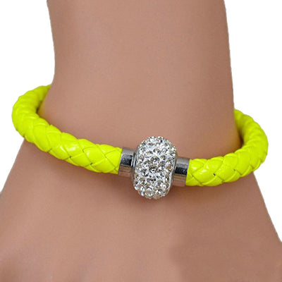 Handmade Magnetic Leather Buckle Bangle Wristband Bracelet - MM Watch 4U Store | Quality & Style