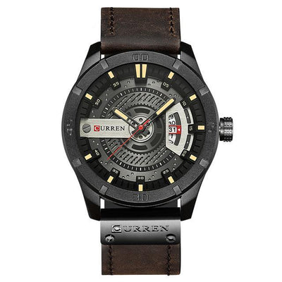 Leather Complication Watch - MM Watch 4U Store | Quality & Style