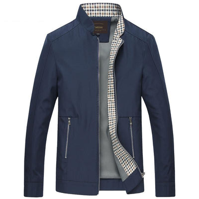 Men's Autumn Fashion Slim Fitted Zipper Jackets & Coat