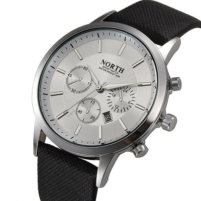 North Brand Luxury Casual Military Quartz Sports Men's Watch