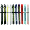 Black Green  Silicone Sport Watch Band for Apple Watch Series 1 2 & 3 - MM Watch 4U Store | Quality & Style