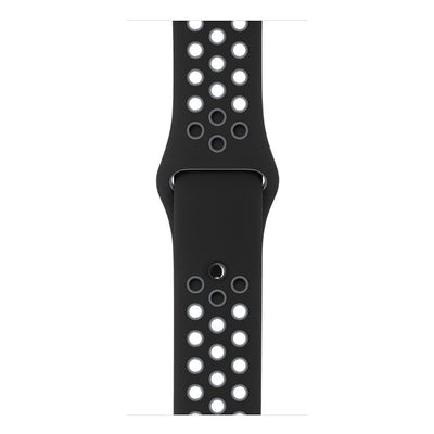Sport Silicone Black Blue Watchband for Apple Watch Series 1 2 & 3 - MM Watch 4U Store | Quality & Style