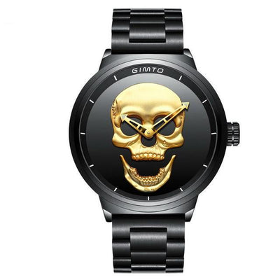 Cool Punk 3D Skull Men's Watch - MM Watch 4U Store | Quality & Style