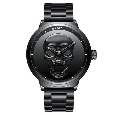Stainless Steel Primitive Skull Watch - MM Watch 4U Store | Quality & Style