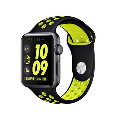 Sport Silicone Watchband for Apple Watch Series 1 2 & 3 - MM Watch 4U Store | Quality & Style