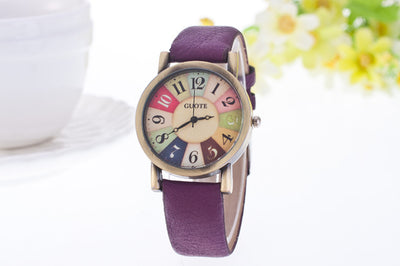 Vintage Style Ladies' Leather Watch - MM Watch 4U Store | Quality & Style