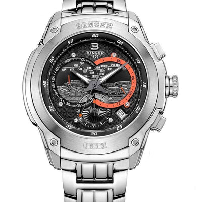 Men's Chronograph Luminous Diver's  Watch - MM Watch 4U Store | Quality & Style